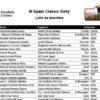 44 equipos en el III Spain Classic Rally